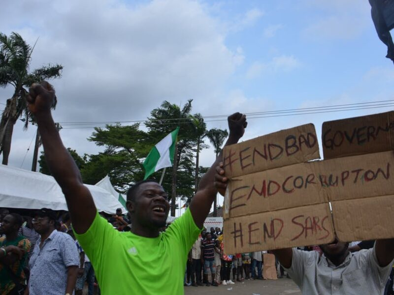 Nigeria protests against police brutality