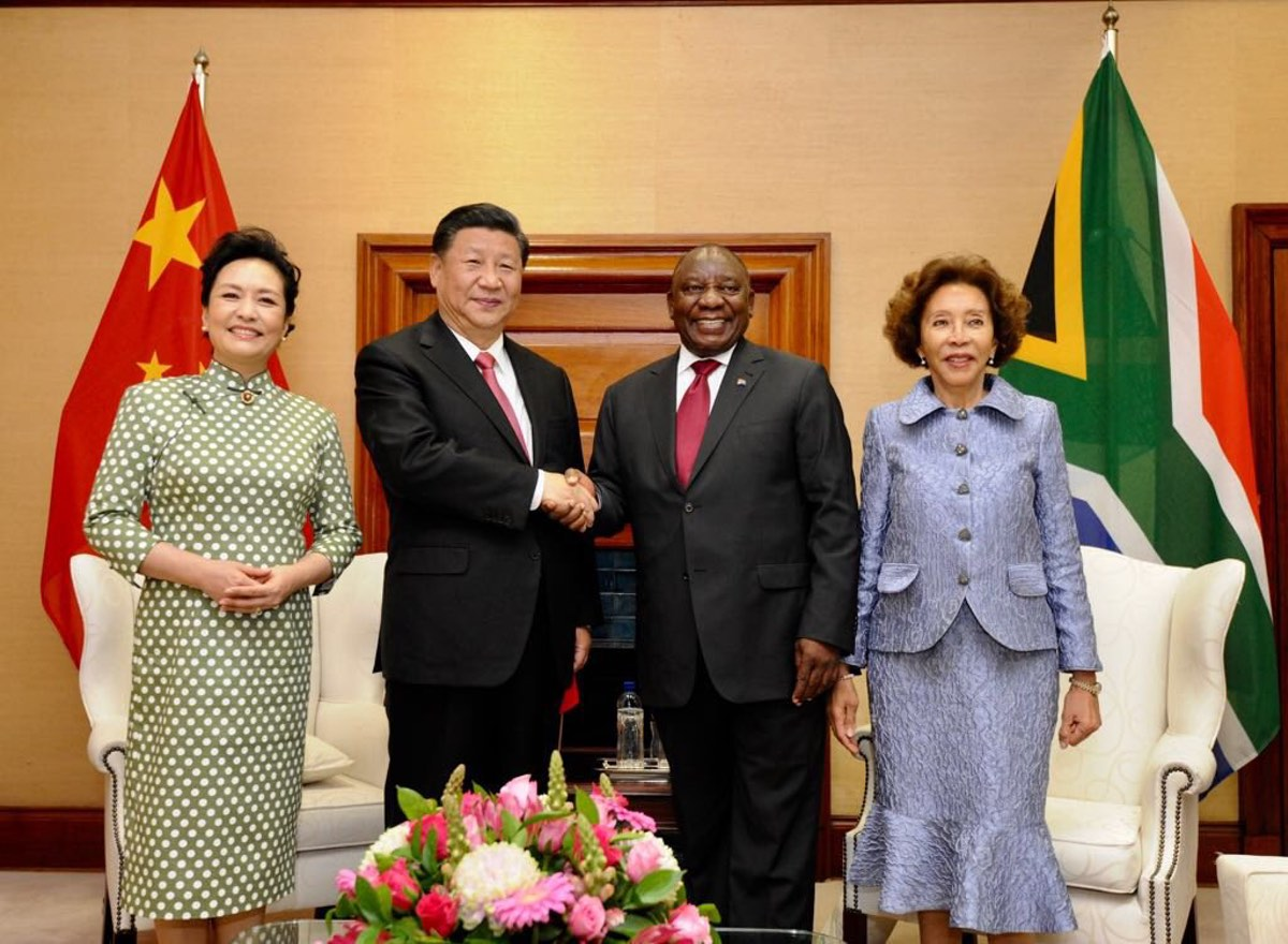 China's South Africa State Visit, 2018