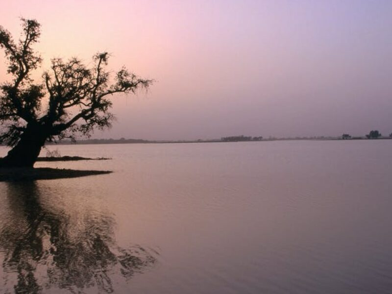 Lake Chad captured from Diffa, Niger. GettyImages.